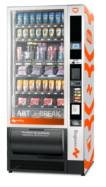 Fotografia da máquina de produtos NVending